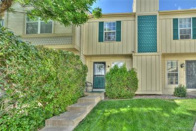 Aurora Condo/Townhouse Under Contract: 1612 South Idalia Circle #J