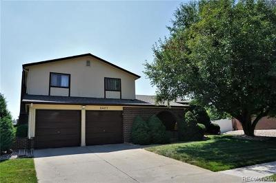 Arvada Single Family Home Active: 8407 Chase Drive