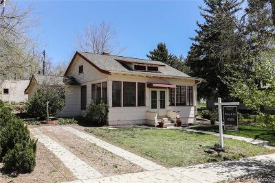 Castle Rock Single Family Home Under Contract: 110 Lewis Street