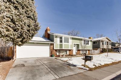 Littleton Single Family Home Under Contract: 7477 West Fremont Drive