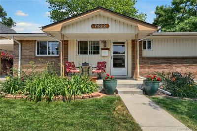Westminster Single Family Home Active: 7522 Dale Court