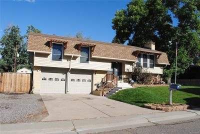 Northglenn Single Family Home Active: 10658 Upton Street