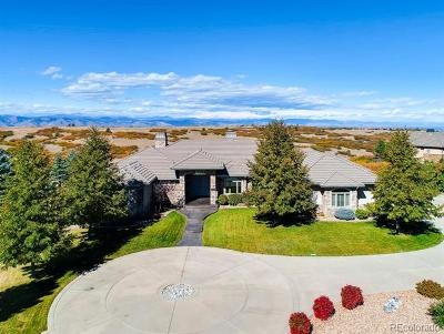 Castle Pines Single Family Home Active: 7707 Buffalo Trail