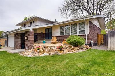 Denver Single Family Home Active: 2862 South Vincennes Way