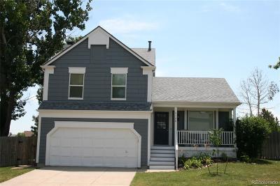 Castle Rock Single Family Home Under Contract: 5160 East Kensington Avenue