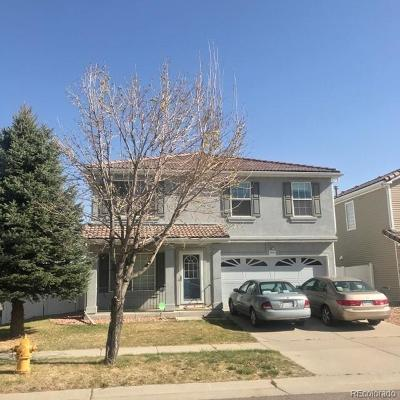Denver Single Family Home Active: 18705 Burlington Place