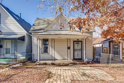 Denver Single Family Home Active: 4313 Sherman Street
