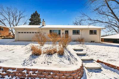 Denver Single Family Home Active: 4020 West Dartmouth Avenue