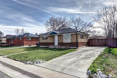 Denver Single Family Home Active: 7230 Alan Drive