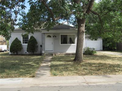 Denver Single Family Home Under Contract: 540 Xavier Street