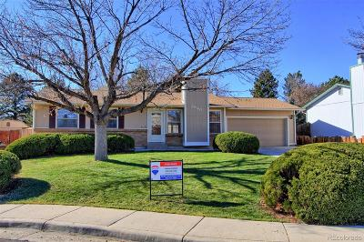 Broomfield Single Family Home Under Contract: 2640 West 133rd Circle