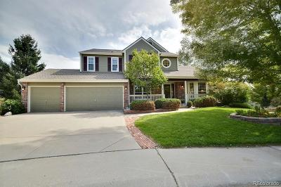 Highlands Ranch Single Family Home Under Contract: 9456 Indian Paintbrush Court