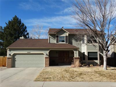 Centennial Single Family Home Under Contract: 5495 South Kirk Circle