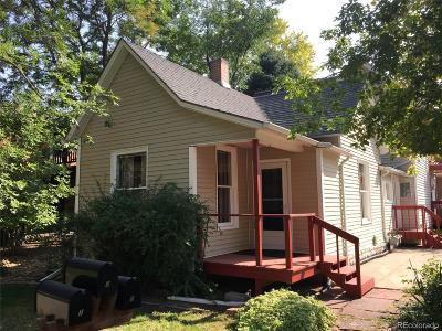 Longmont Condo/Townhouse Under Contract: 634 Kimbark Street #1