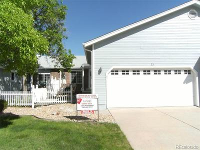 Highlands Ranch Condo/Townhouse Active: 23 Shetland Court