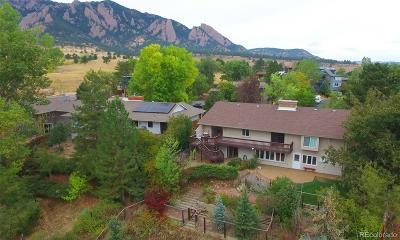 Boulder Single Family Home Under Contract: 1960 Vassar Drive