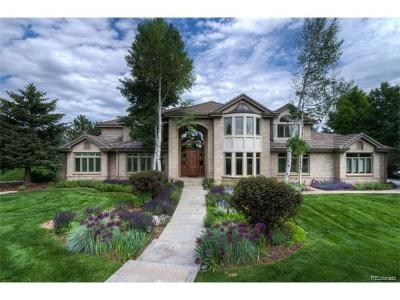 Greenwood Village CO Single Family Home Sold: $1,900,000