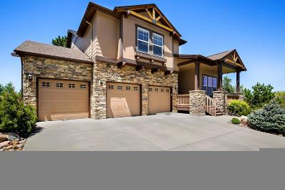 Castle Rock Single Family Home Under Contract: 1629 Ridgetrail Court