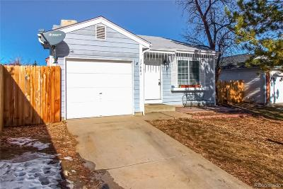 Aurora Single Family Home Active: 17601 East Bethany Place
