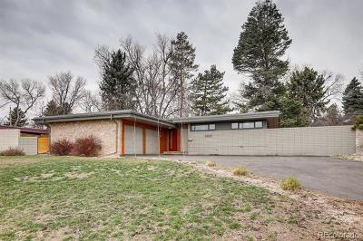 Littleton Single Family Home Active: 5405 South Lowell Boulevard
