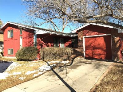 Broomfield Single Family Home Under Contract: 394 Cypress Street