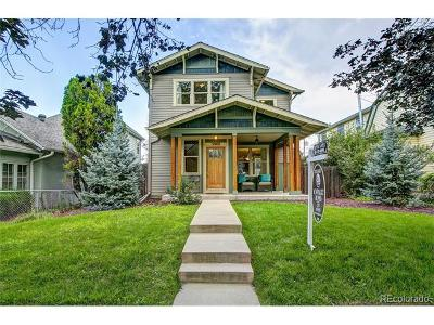 Denver Single Family Home Active: 3968 Yates Street