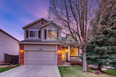 Aurora Single Family Home Active: 22852 East Dorado Drive