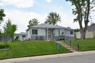 Denver Single Family Home Active: 1350 West Ada Place