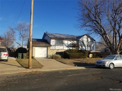 Northglenn Single Family Home Under Contract: 1389 Dean Drive