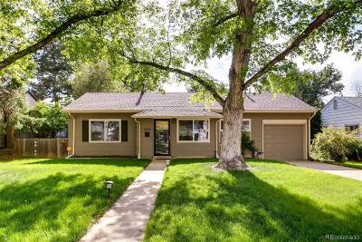 Denver Single Family Home Active: 3243 South Forest Street