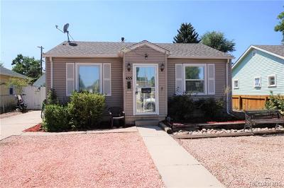 Denver Single Family Home Active: 455 Perry Street