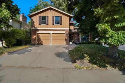 Aurora Single Family Home Active: 2801 South Ursula Court