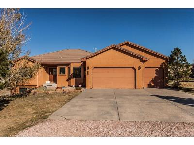Woodmoor Single Family Home Active: 880 Caribou Drive