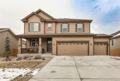 Castle Rock Single Family Home Under Contract: 7437 Blue Water Lane