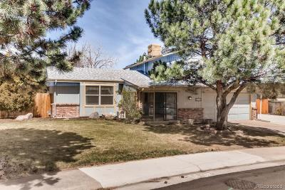Littleton Single Family Home Under Contract: 7577 South Newland Street