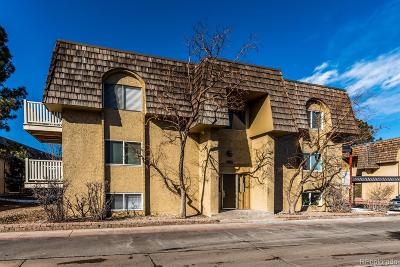 Denver Condo/Townhouse Under Contract: 7665 East Quincy Avenue #107