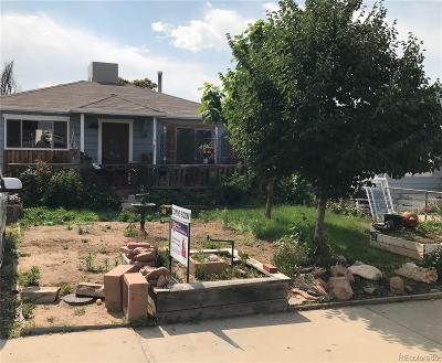 Denver Single Family Home Under Contract: 4935 Cook Street