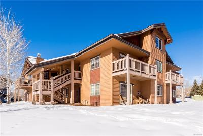 Steamboat Springs Condo/Townhouse Under Contract: 1457 Morgan Court #202