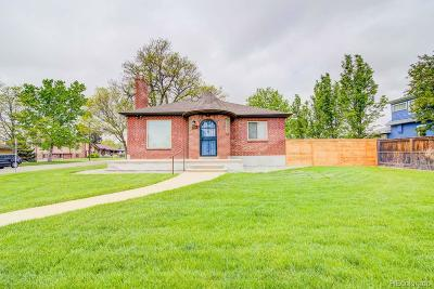 Denver Single Family Home Under Contract: 1601 Utica Street