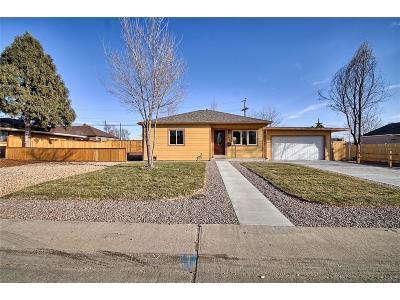 Denver Single Family Home Active: 986 Xavier Street