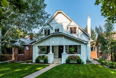 Denver Single Family Home Active: 759 South Race Street