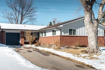 Denver Single Family Home Under Contract: 1629 South Kearney Street