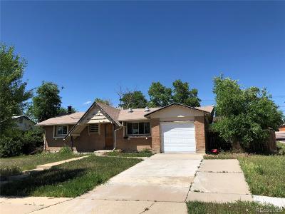 Denver Single Family Home Active: 1279 Douglas Drive