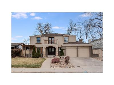 Denver Single Family Home Active: 3602 South Spruce Street