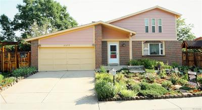 Littleton Single Family Home Active: 9277 West Maplewood Drive