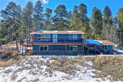 Conifer Single Family Home Under Contract: 27685 Stagecoach Road
