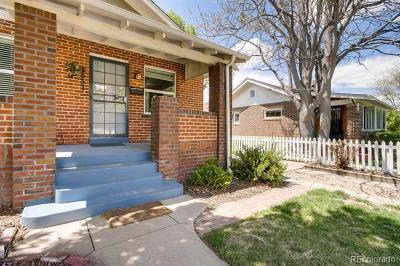 Denver Single Family Home Active: 2537 Holly Street