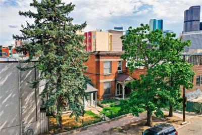 Denver Residential Lots & Land Active: 2318-2322 Arapahoe Street