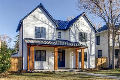 Denver Single Family Home Under Contract: 2170 South Columbine Street