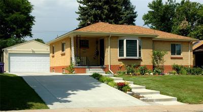 Denver CO Single Family Home Active: $385,000